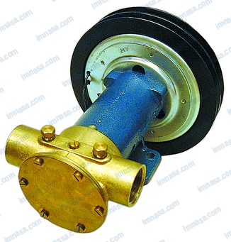 PUMP WITHOUT CLUTCH OR PULLEY RET/MEC F7