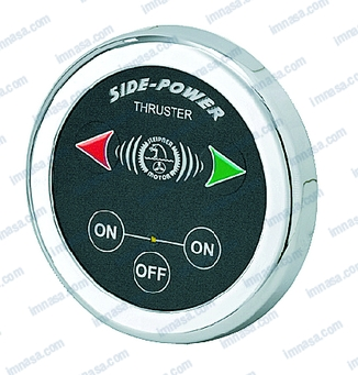 BOW THRUSTER CONTROL PANEL 12/24V  ROUND